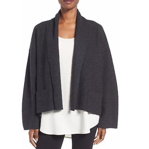 343ebda850a Eileen Fisher Sweaters - Eileen Fisher Boiled Wool Kimono Jacket